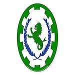 Greenlion Bay Sticker (Oval 10 pk)