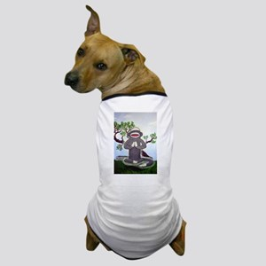 Sock Monkey Nirvana Dog T-Shirt