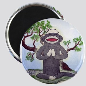 Sock Monkey Nirvana Magnet