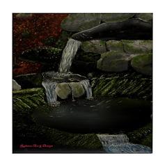 Rocky Falls Tile Coaster