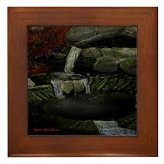 Rocky Falls Framed Tile