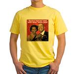 Obama's Inner Child Yellow T-Shirt