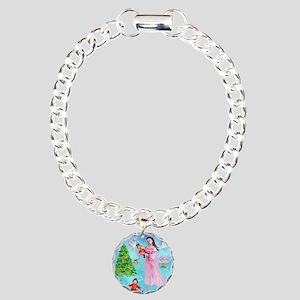 Nutcracker & Clara Charm Bracelet, One Charm