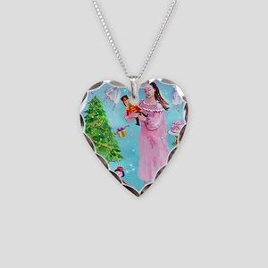 Nutcracker & Clara Necklace Heart Charm