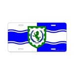 Greenlion Bay Aluminum License Plate