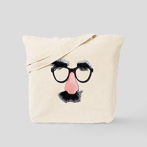 Glasses Mustache Eyebrows Tote Bag