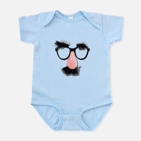 Glasses Mustache Eyebrows Infant Bodysuit
