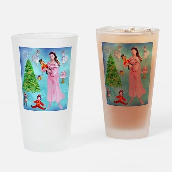 Nutcracker & Clara Drinking Glass