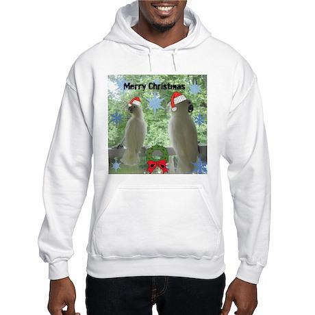 Christmas- Cockatoo Hooded Sweatshirt