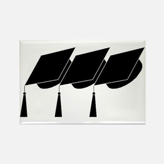 Graduation Caps! Rectangle Magnet (10 pack)