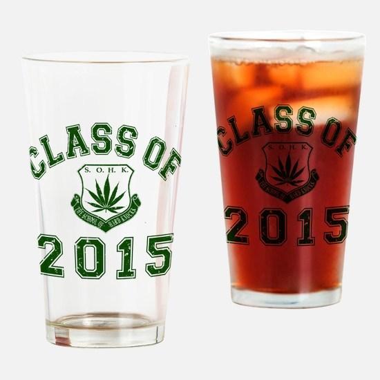 2015 School Of Hard Knocks Drinking Glass