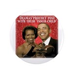 "Obama's Inner Child 3.5"" Button (100 pack)"