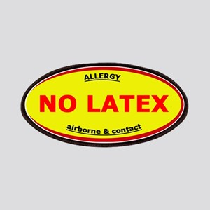 No Latex / Latex Allergy Patches