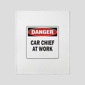 Car Chief Throw Blanket