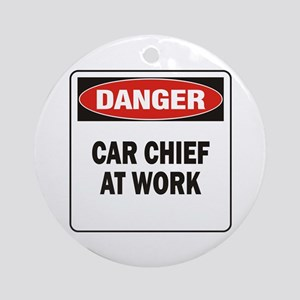 Car Chief Ornament (Round)