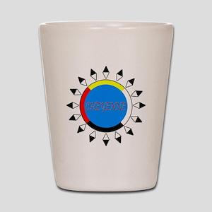 Cheyenne Shot Glass
