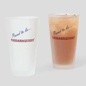 Passamaquoddy Drinking Glass