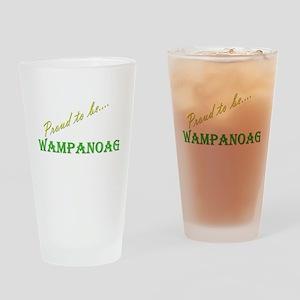 Wampanoag Drinking Glass