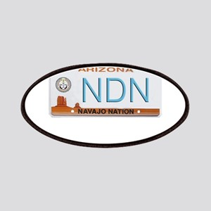 Navajo Nation NDN plate Patches