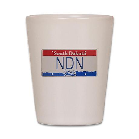 South Dakota NDN Pride Shot Glass