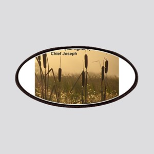 Chief Joseph Earth Quote Patches