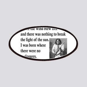 Geronimo Quote Patches