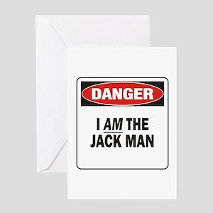 Jack Man Greeting Card