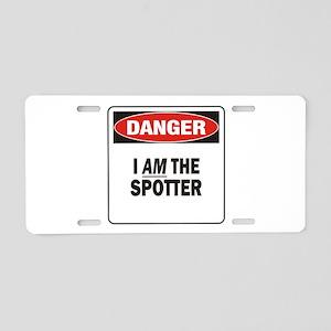 Spotter Aluminum License Plate