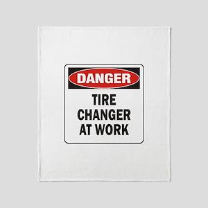Tire Changer Throw Blanket