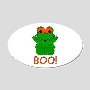 Halloween Frog 22x14 Oval Wall Peel