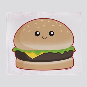 Hamburger Throw Blanket