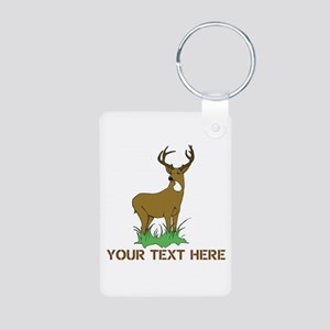 BIG BUCK Aluminum Photo Keychain