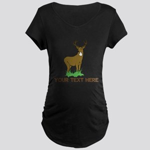 BIG BUCK Maternity Dark T-Shirt
