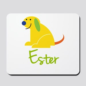 Ester Loves Puppies Mousepad