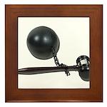 Facing Legal Issues Framed Tile