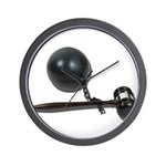 Facing Legal Issues Wall Clock
