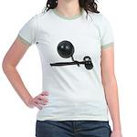 Facing Legal Issues Jr. Ringer T-Shirt