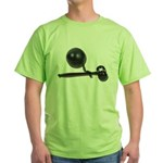 Facing Legal Issues Green T-Shirt