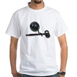 Facing Legal Issues White T-Shirt