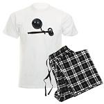 Facing Legal Issues Men's Light Pajamas