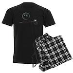 Facing Legal Issues Men's Dark Pajamas