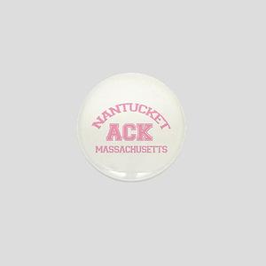 Nantucket MA - Varsity Design Mini Button