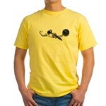 Crime Legal Process Consequen Yellow T-Shirt