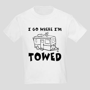 Towed Trailer Kids Light T-Shirt