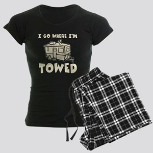 Towed Trailer Women's Dark Pajamas