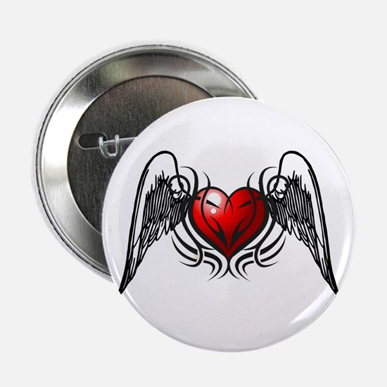 "Tribal Wings 2.25"" Button"