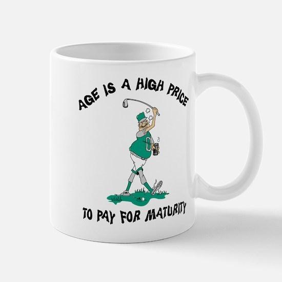 Funny Golfing Grandpa Mug