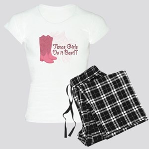 Texas Girls Do it Better Women's Light Pajamas