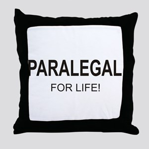 Paralegal For Life Throw Pillow