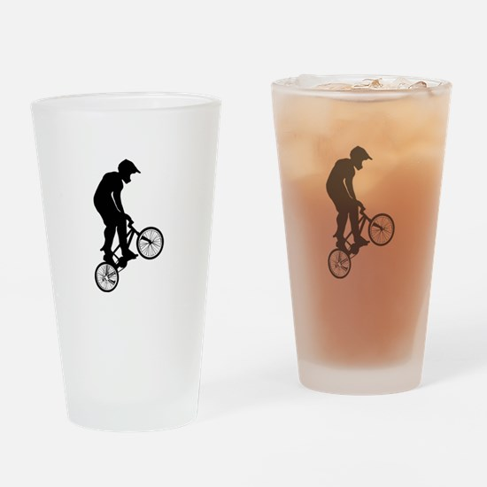 BMX Drinking Glass